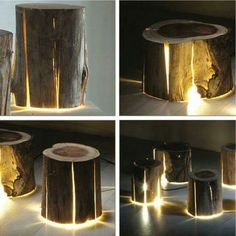 Creative tree stumps
