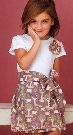как сделать детское платье из футболки