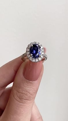 The Selena Engagement Ring is a timeless design inspired by Tiffany Gemstone Engagement Rings, Designer Engagement Rings, Engagement Ring Settings, Black Diamond Earrings, Blue Sapphire Rings, Best Diamond, Halo Diamond, White Gold Rings, Timeless Design