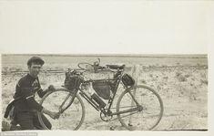 Vintage bikepacking