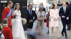 That was the third time Kate and William stepped out in Westminster Abbey as a married couple! Their visit is in alternative years: 2011, 2013, 2015. I guess the next visit to the Abbey will be in 2017, maybe with another Royal Baby on the way!