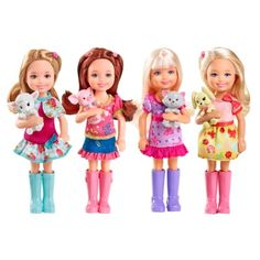 Barbie Chelsea and Friends