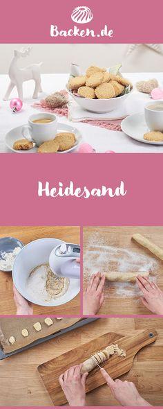 Heidesand ist ein traditionsreiches Weihnachtsgebäck, das seinen Namen dem hellen, sandigen Heideboden Niedersachsens verdankt. Das Geheimnis seines Geschmacks: gebräunte Butter.