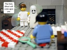 Funny: Lego Bible stories