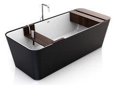 Cool tub & winner of 2011 Reece Bathroom Innovations Award's professional category.  @Hansgrohe USA #bathroomdreams