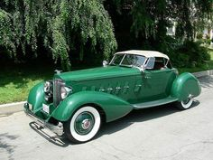 Age of Diesel — 1934 Packard 12 Speedster Auto Retro, Retro Cars, Vintage Cars, Vintage Style, Us Cars, Sport Cars, Austin Martin, Automobile, American Classic Cars