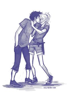 THAT'S RIGHT FOLKS! YOU GET TWO DAILY PERCABETH AWESOMENESS BUT HAS A LOT OF FEELS PIN!!! CUZ. THIS. IS. ADORBS.