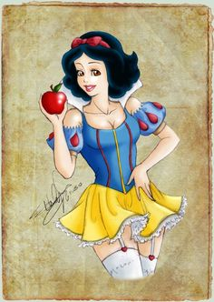 Snow White_Sexified by Emilia89 on DeviantArt