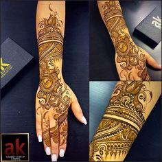 Ash kumar henna design 2015