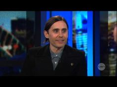 Jared Leto interview on The Project (2013) - 30 Seconds To Mars - YouTube    Funny interview.