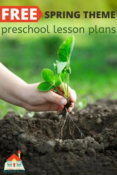 Homeschooling your preschooler has never been easier than with these free printable homeschool preschool lesson plans. Each week features a new theme. Homeschool Preschool Curriculum, Homeschool Worksheets, Preschool Science Activities, Kindergarten Lesson Plans, Preschool Lessons, Preschool Printables, Free Printables, Preschool Spring Songs, Preschool At Home