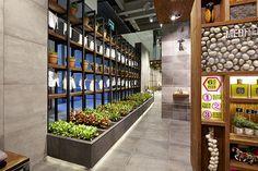 Tiles & Food Novoceram - Cersaie 2014 - Stand Novoceram - #exhibition #stand #scenographie #booth #carrelage #cersaie #ferme #cersaie2014 #Expo2015  http://www.novoceram.fr/blog/scenographies/photos-cersaie-2014