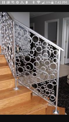 Luv this staircase railing
