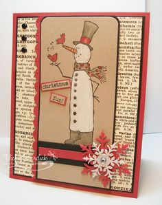 SC344....Christmas Fun by justcrazy - Cards and Paper Crafts at Splitcoaststampers