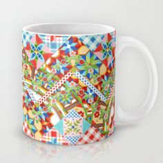 Design Confections Pattern on Pattern II Mug - having so much fun with my new pattern pattern series :) #PatriciaSheaDesigns