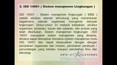 Sistem Manajemen dan Sertifikasi ISO