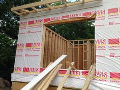 July 5,2014 2nd day of framing..1st story Master Bedroom window