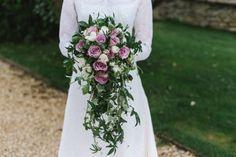 cascasing pink bouquet