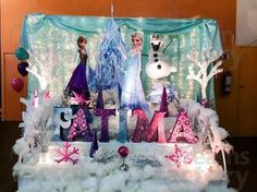 Fiestas Infantiles Decoradas con Frozen, parte 1