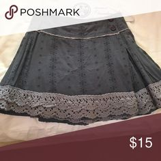 Free people crochet skirt Boho chic Free People Skirts Mini