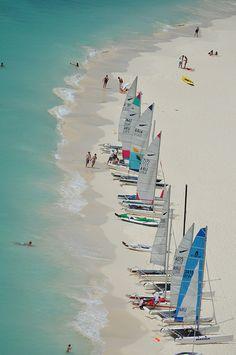 Aruba sailing