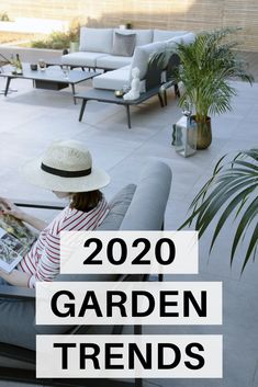 Contemporary garden furniture for all budgets based on what is currently trending in the interiors market. Contemporary Garden Furniture, Outdoor Garden Furniture, Garden Chairs, Outdoor Chairs, Contemporary Gardens, Modern Gardens, Small Backyard Landscaping, Backyard Pergola, Backyard Ideas