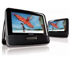 Philips PD7012 7 Widescreen Portable DVD Player with Dual Screens by Philips. $165.18. All of the products showcased throughout are 100% Original Brand Names.. 100% Satisfaction Guaranteed.. High quality items at low prices to our valued customers.. Please refer to the title for the exact description of the item.. We proudly offer free shipping. We can only ship to the continental United States.. Enjoy your movies on the road with two widescreen LCDs. Play your movies ...