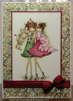 Patti and Dotti by bessieheav - Cards and Paper Crafts at Splitcoaststampers