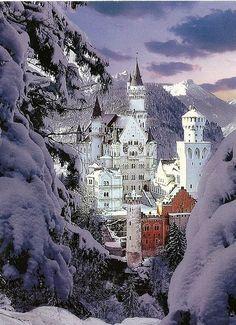 Neuschwanstein Castle-Germany. № 41