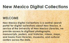 New Mexico Digital Collections  (UNM University Libraries)