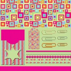 Free Printable Scrapbook Papers and Embellishments