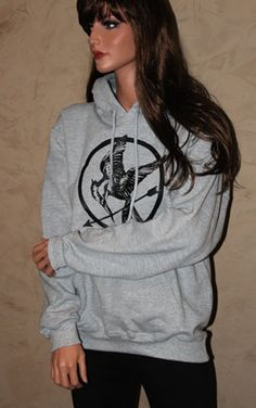 I might need this hoodie...  I like how it's simple and not the crazy on fire one