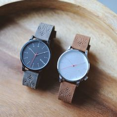Winston Brogue Charcoal and Walnut #watches #Komono #timepieces