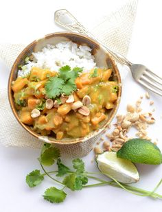 Quick and Easy Sweet Potato Curry (meatless)