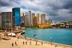 Photo about Sydney Harbour and city skyline, Australia. Image of pier, skyline, cityscape - 9706559 Australia Visa, Sydney Australia, Australia Migration, Summer Hill, Major Airlines, Property Investor, Victorian Buildings, Next At Home, Capital City