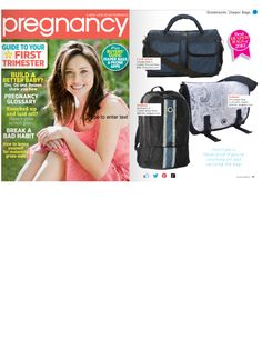 @Gertrude Kinner Magazine has featured our Voyage Diaper Bag within their 'Best 2013 Diaper Bags' - which is wonderful!  Well done Voyage line!