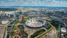 Queen Elizabeth II Olympic Park in Stratford