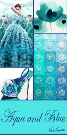 "Hi Ladies. Thanks for all the great pins today. Next up. Let's pin this color board "" AQUA AND BLUE "" Happy Pinning"