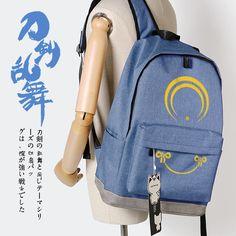 31.99$  Watch here - http://aliysj.shopchina.info/go.php?t=32798422564 - Game Touken Ranbu Online cos Mikazuki Munechika kogitsunemaru cosplay printing Oxford cloth shoulderbag Anime game Backpacks 31.99$ #magazineonlinebeautiful
