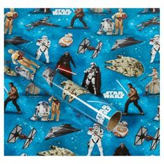Star Wars Roll Wrap