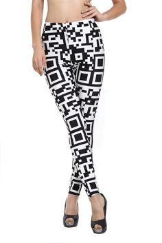 Womens Leggings Red Tartan Checked Design Punk Goth LL0037 S to 4XL Sizes