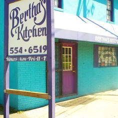 The best Southern institution in Charleston: Bertha's Kitchen