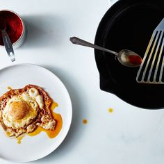 Canal House's Pimentón Fried Eggs Recipe on Food52 recipe on Food52 ***serve with CM olive bread