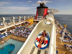 Disney Cruise Line : 10 Impressive Cruise Ship Pools You Must See For Yourself : Condé Nast Traveler