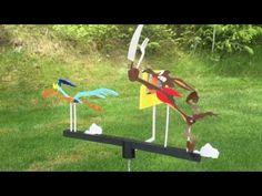 Roadrunner Whirligig - YouTube