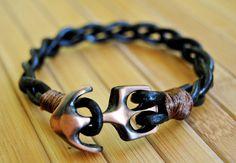 FREE SHIPPING Couple bracelet leather men bracelet by FosforStore