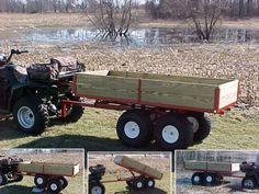 tandem axle ATV trailer
