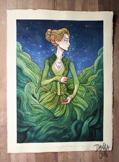 Memento Mori ♦ Original Watercolor Painting ♦ 11 x 15 inches
