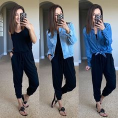 How to style a jumpsuit Spring Style, Spring Summer, Mom Style, Everyday Fashion, Fashion Outfits, Fashion Tips, Spring Fashion, Summer Outfits, Jumpsuit