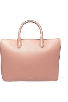 JIL SANDER LEATHER TOTE GBP446.25 http://www.theoutnet.com/product/842400